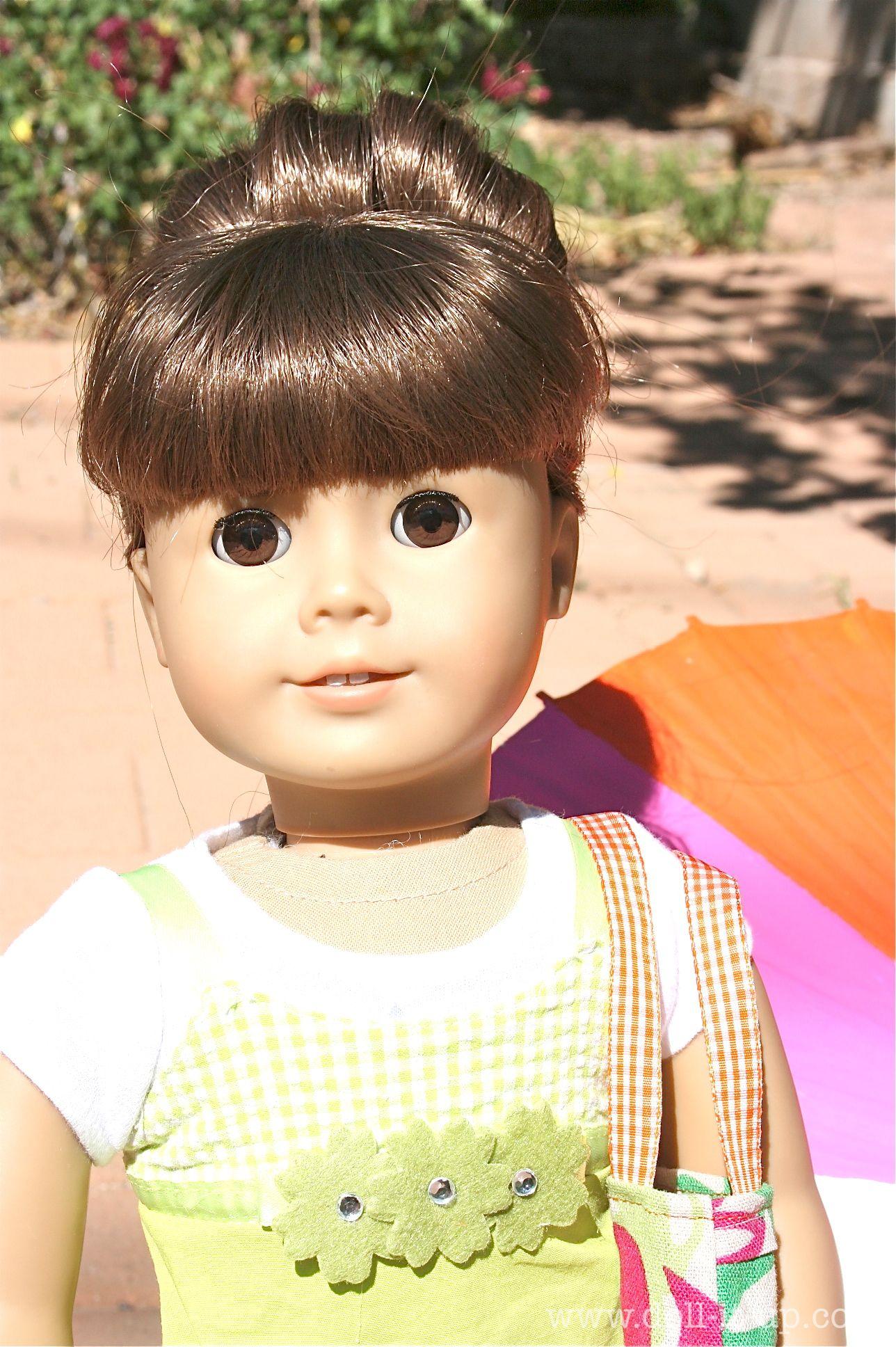 doll hair: the fabulous sock bun | doll hair fixes and hair