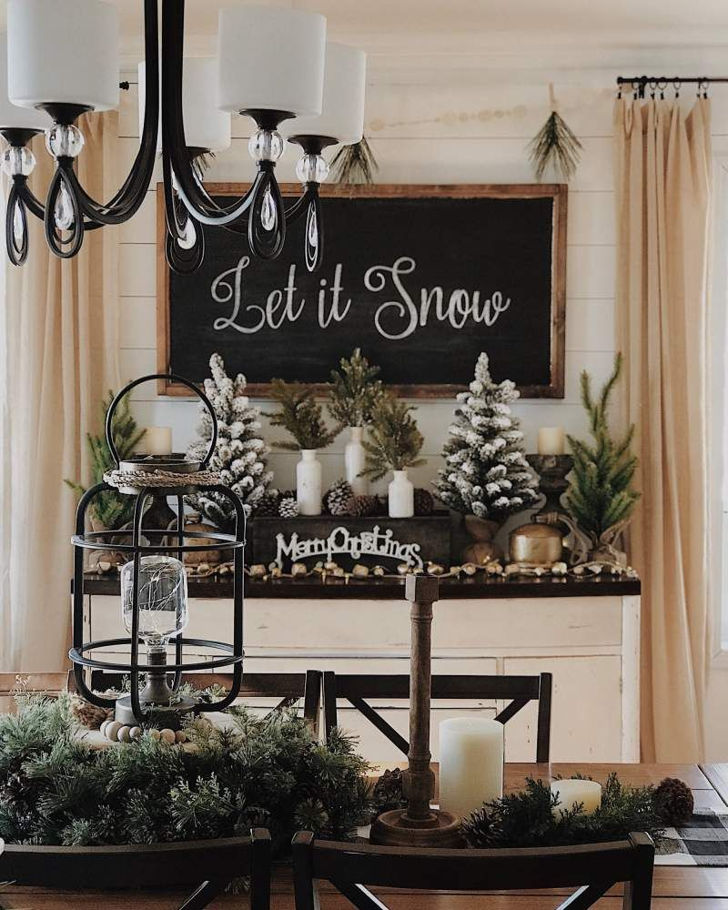 60 Rustic Christmas Decorations whose Natural & Rugged Beauty will make your Hea…