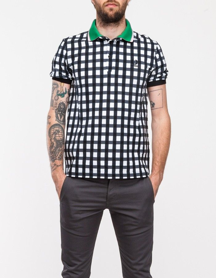 Gingham Fade Fred Perry Shirt