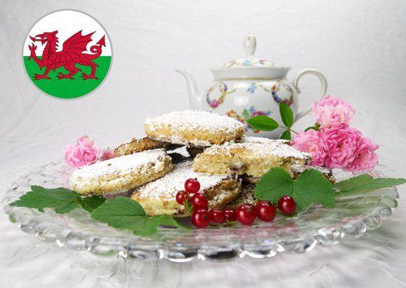 Walisischer Teekuchen - Welsh Cake - Wales - Euro 2016