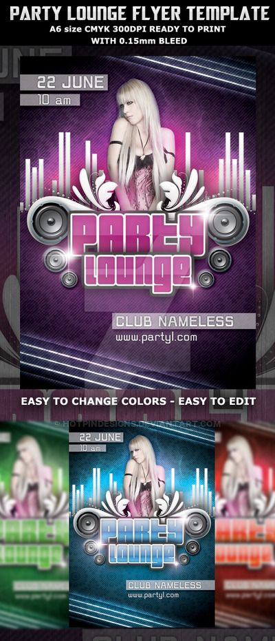 http www deviantart com art party lounge flyer template 210034818