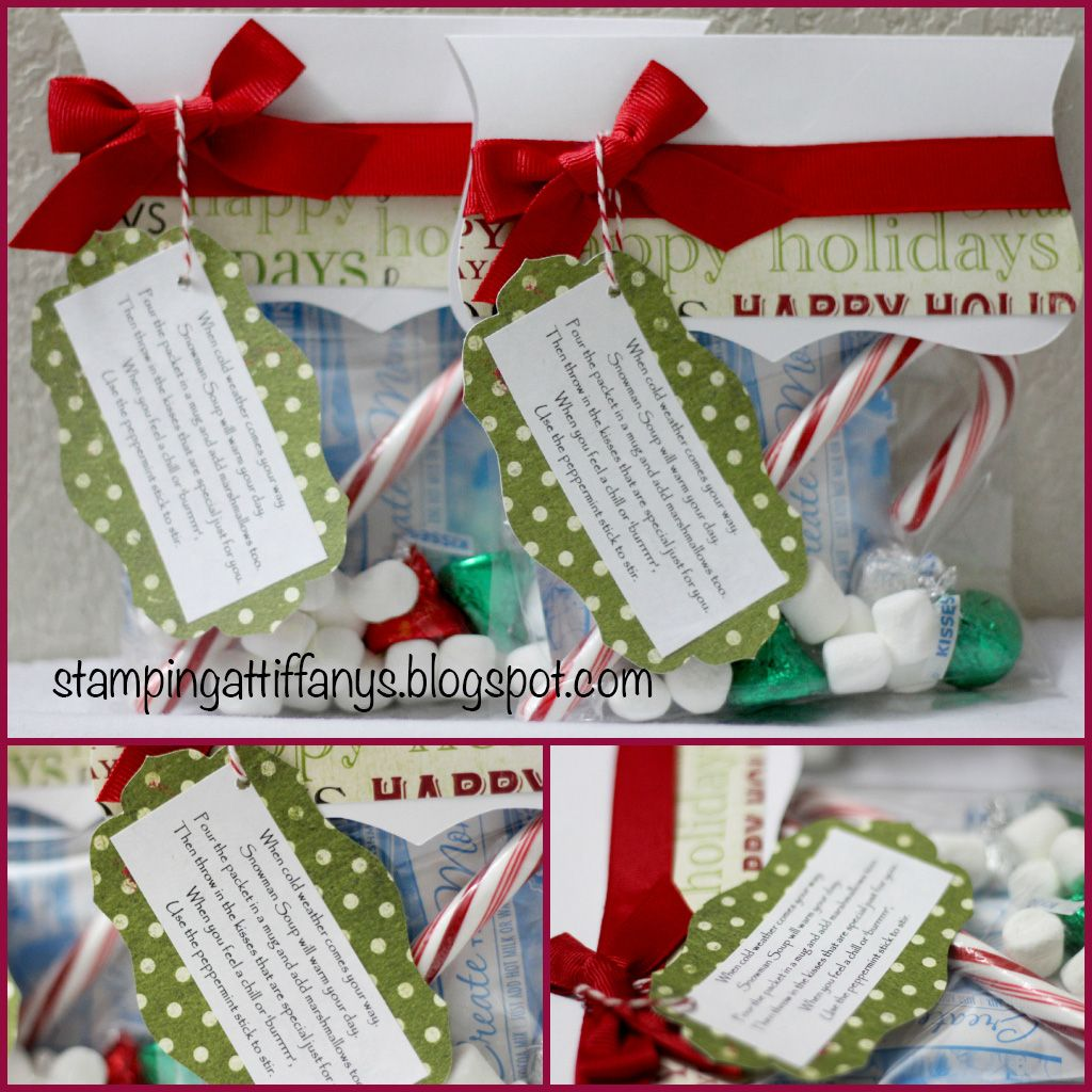 DIY kid treat bags. class Christmas party. Tiffanys Paper Designs ...
