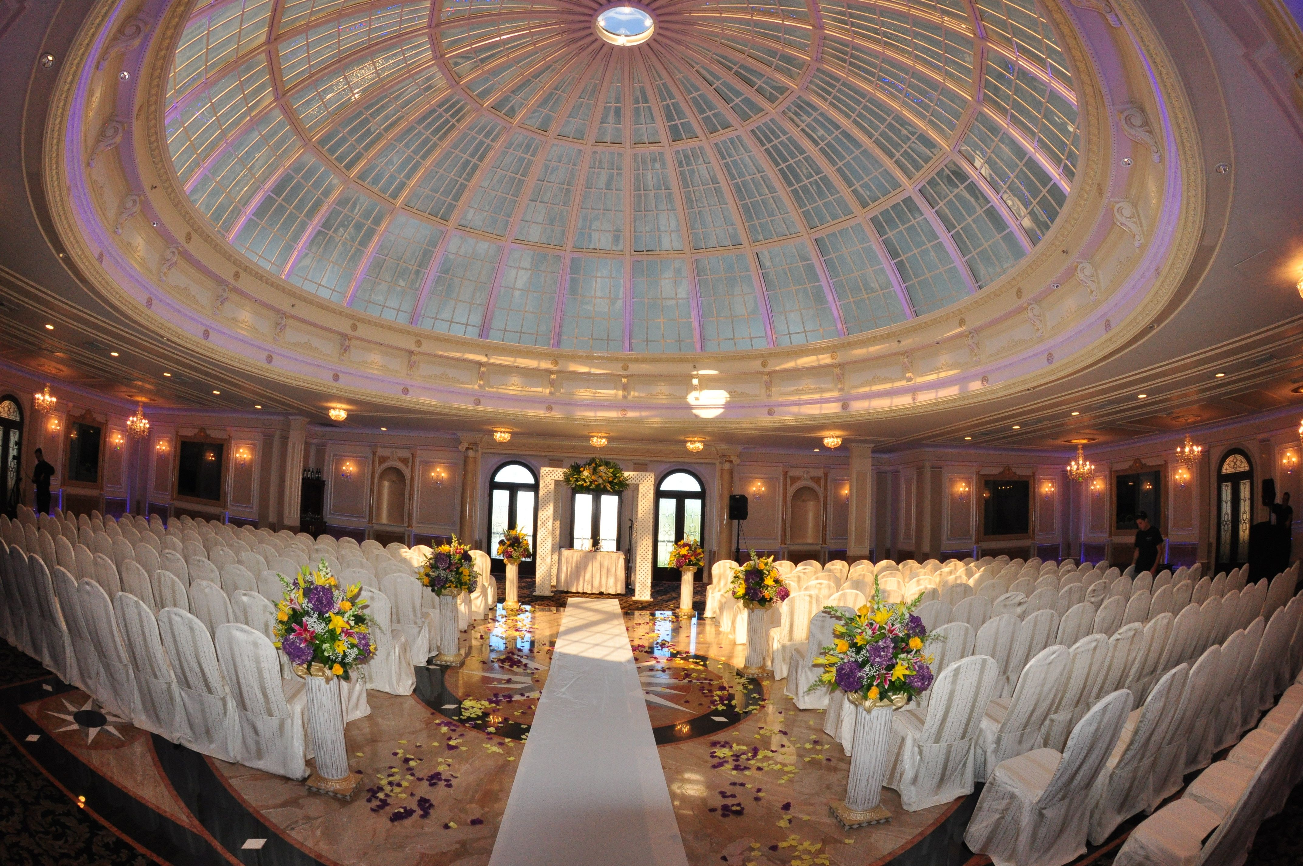 Ceremony In Reception Room: Ceremonies At Jericho Terrace