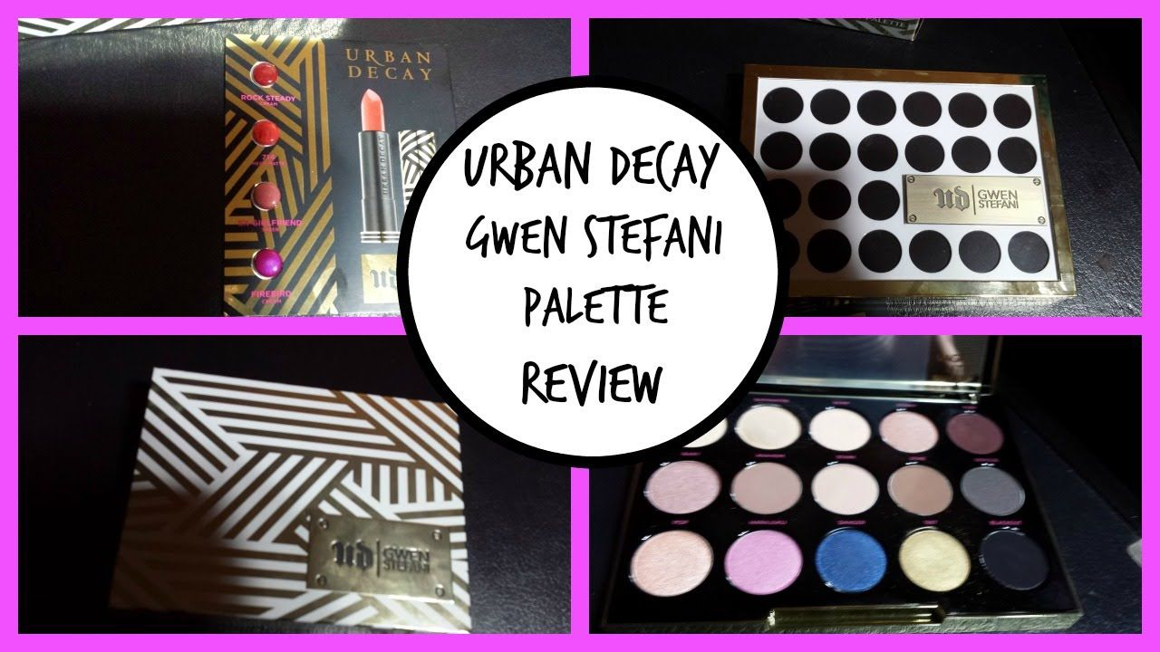 UD | Urban Decay Gwen Stefani Eyeshadow Palette First Impressions and Re...