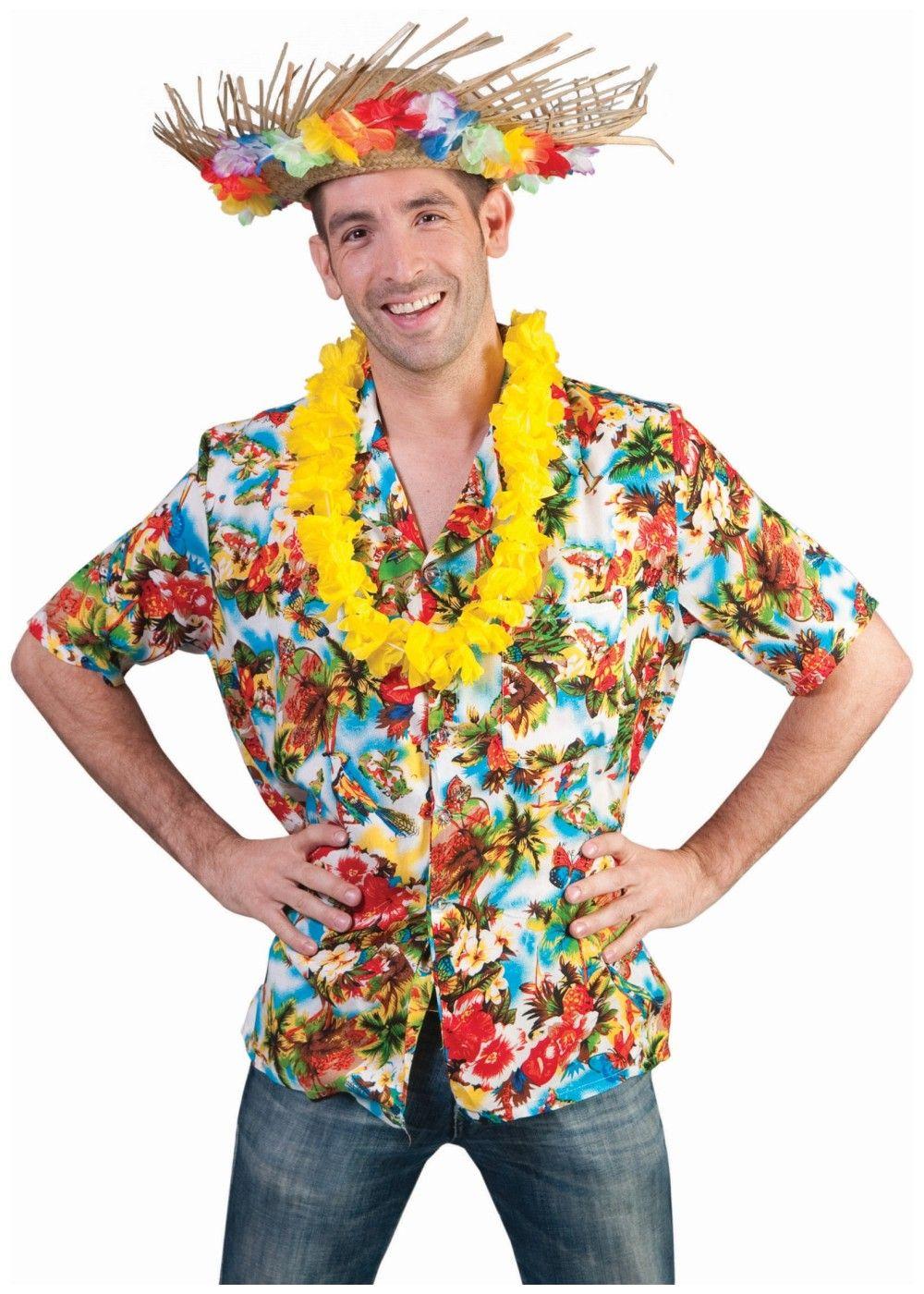 f20e55a8465 Hawaiian Tropical Paradise Men Shirt