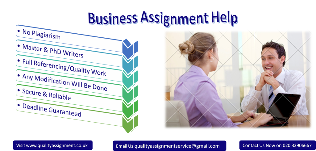 Business Assignment Help by UK top Writers Quality