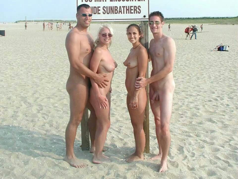 Nude Beach People