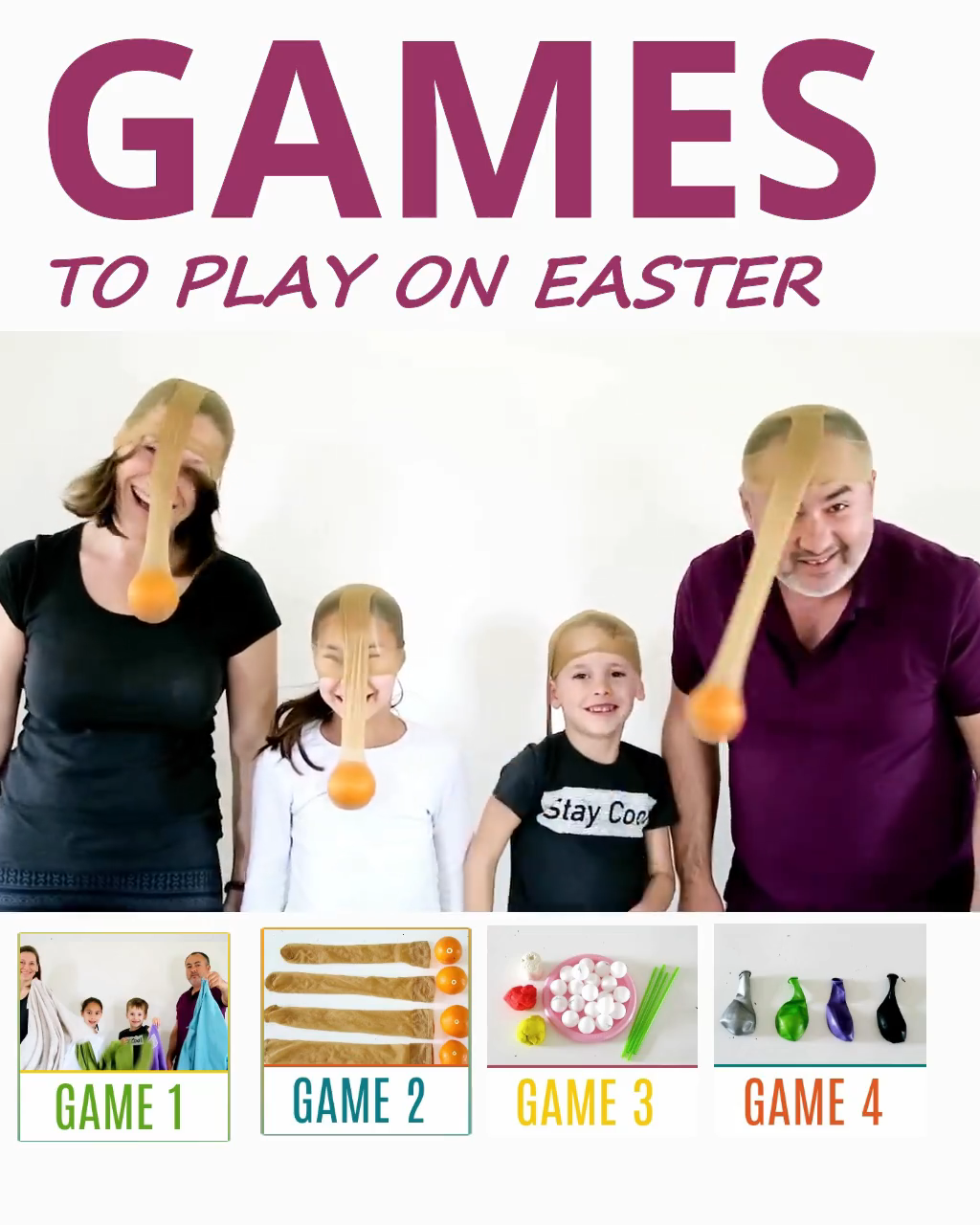 Are you looking for Easter Family Gathering Games, that'd require minimal set up? YAY, you've found it. Hilarious Easter family gathering games are FUN, QUICK and require NO or just LITTLE PREPARATION. #EasterGames #EasterFamilyGames #HilariousEasterGames #FamilyGames #EasterFamilyActivities #EasterGamesForKids #EasterActivitiesForKids #FunFamilyGames