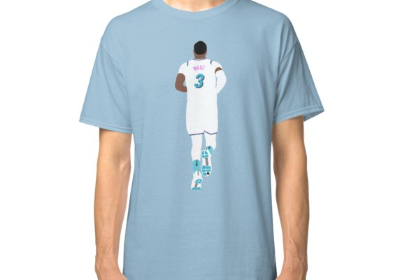 free shipping add9c 3d4bd Dwyane Wade Miami Vice Classic T-Shirt in 2019 | Products ...