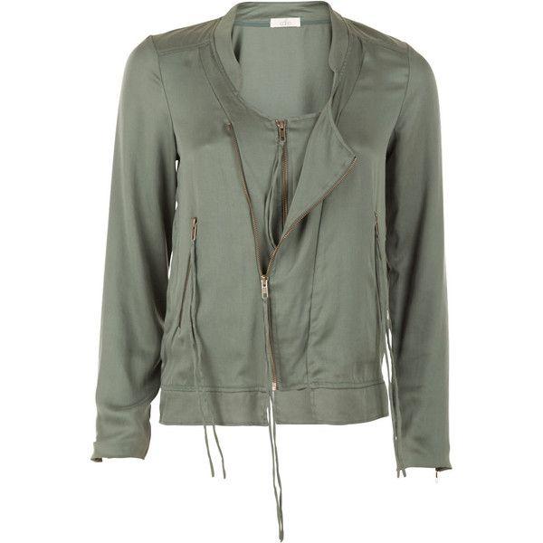 Cardigan Talynn teal ($180) ❤ liked on Polyvore featuring tops, cardigans, zipper top, zipper cardigan, teal cardigan, embellished tops and embellished cardigan