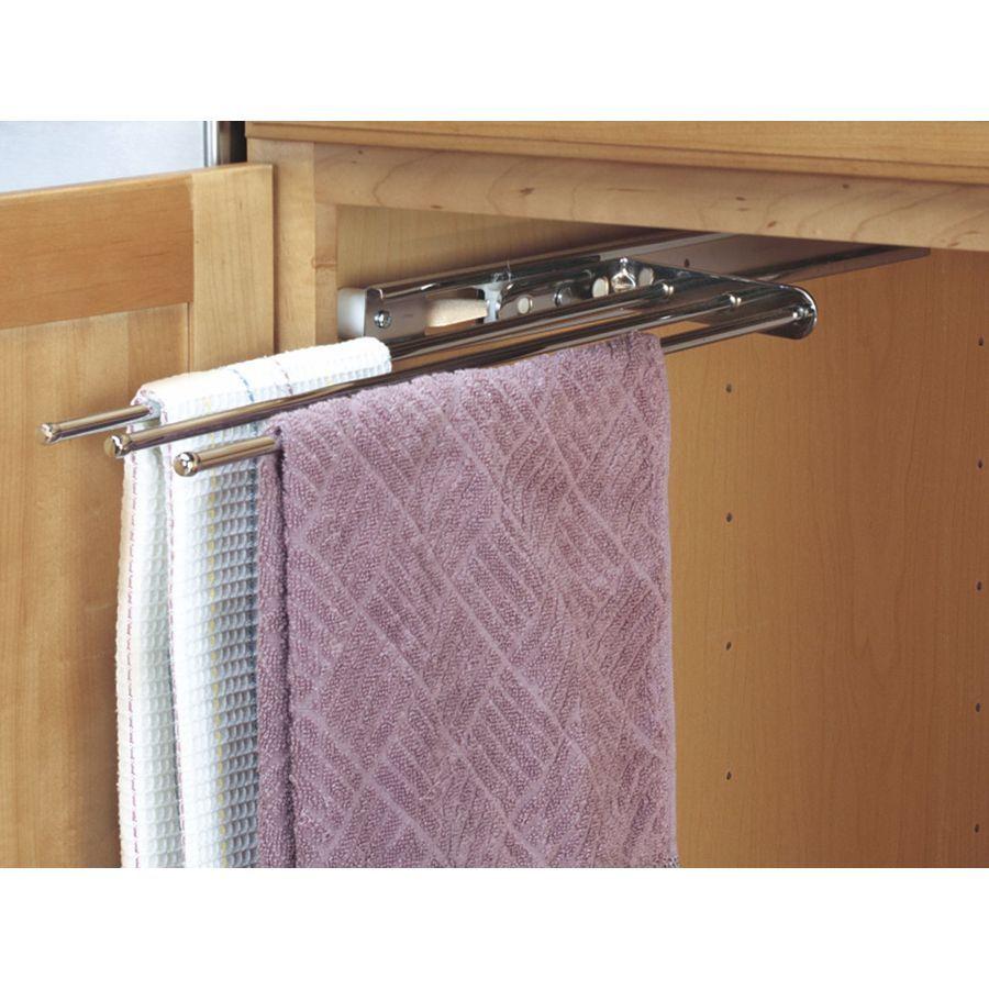 Rev A Shelf Chrome Towel Holder Kitchen Towel Rack Rev A Shelf