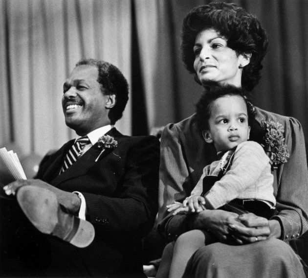 D.C. Mayor Marion Barry with his wife Effi and son Christopher in 1982. | Marion Christopher Barry, Son Of Former D.C. Mayor Marion Barry, Dead At 36