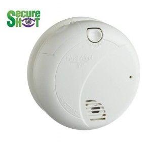 Secureshot First Alert Smoke Detector Battery Powered Hidden