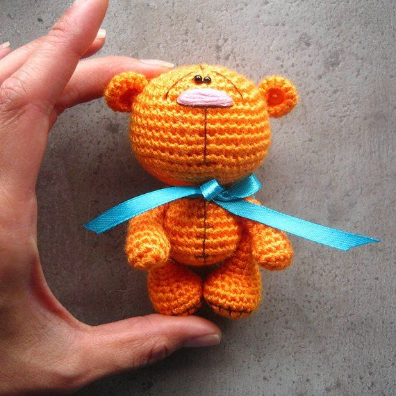 Amigurumi crochet bear pattern PDF pattern ENGLISH language #crochetbearpatterns