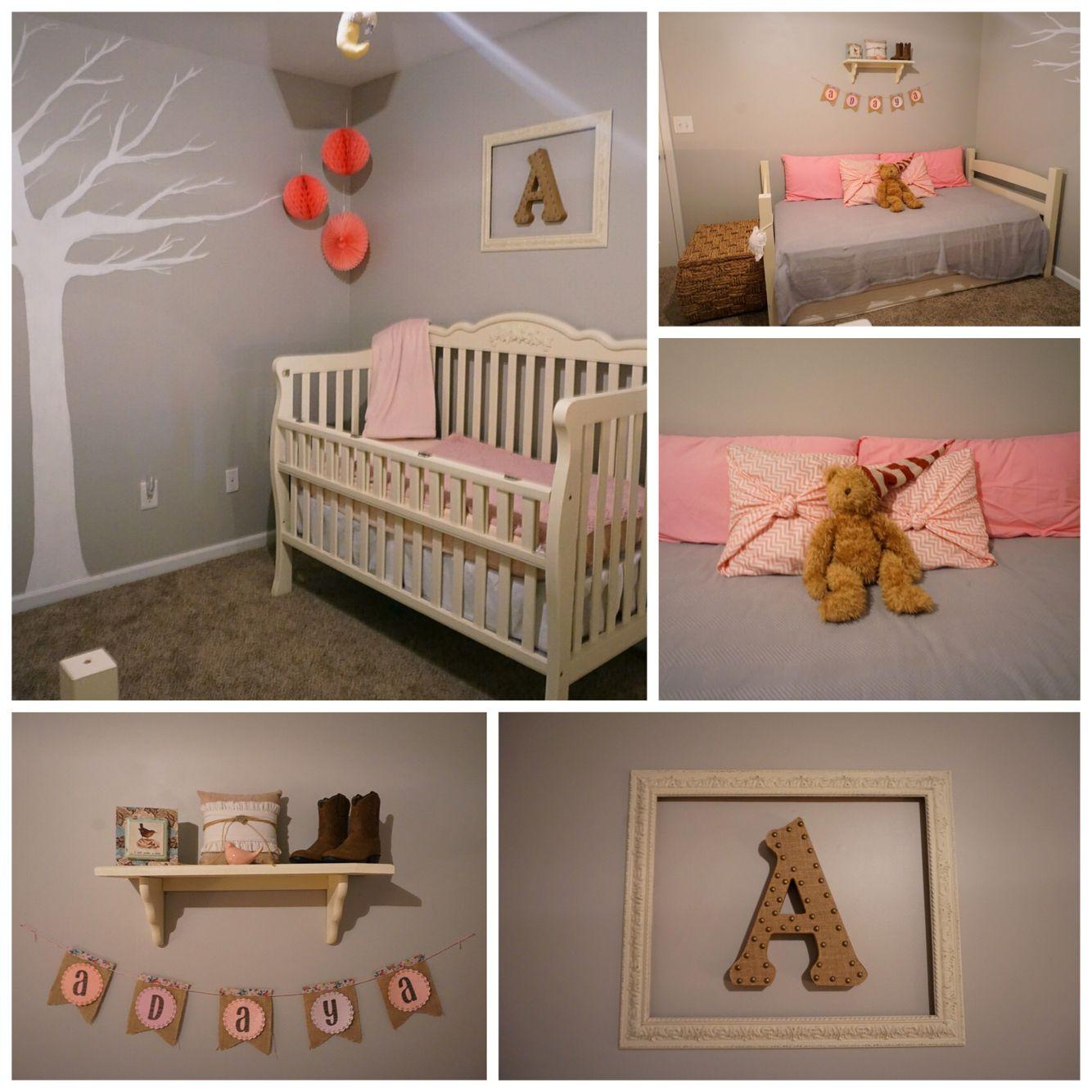 Baby Girl Nursery IdeasHow to make a nursery on a budget