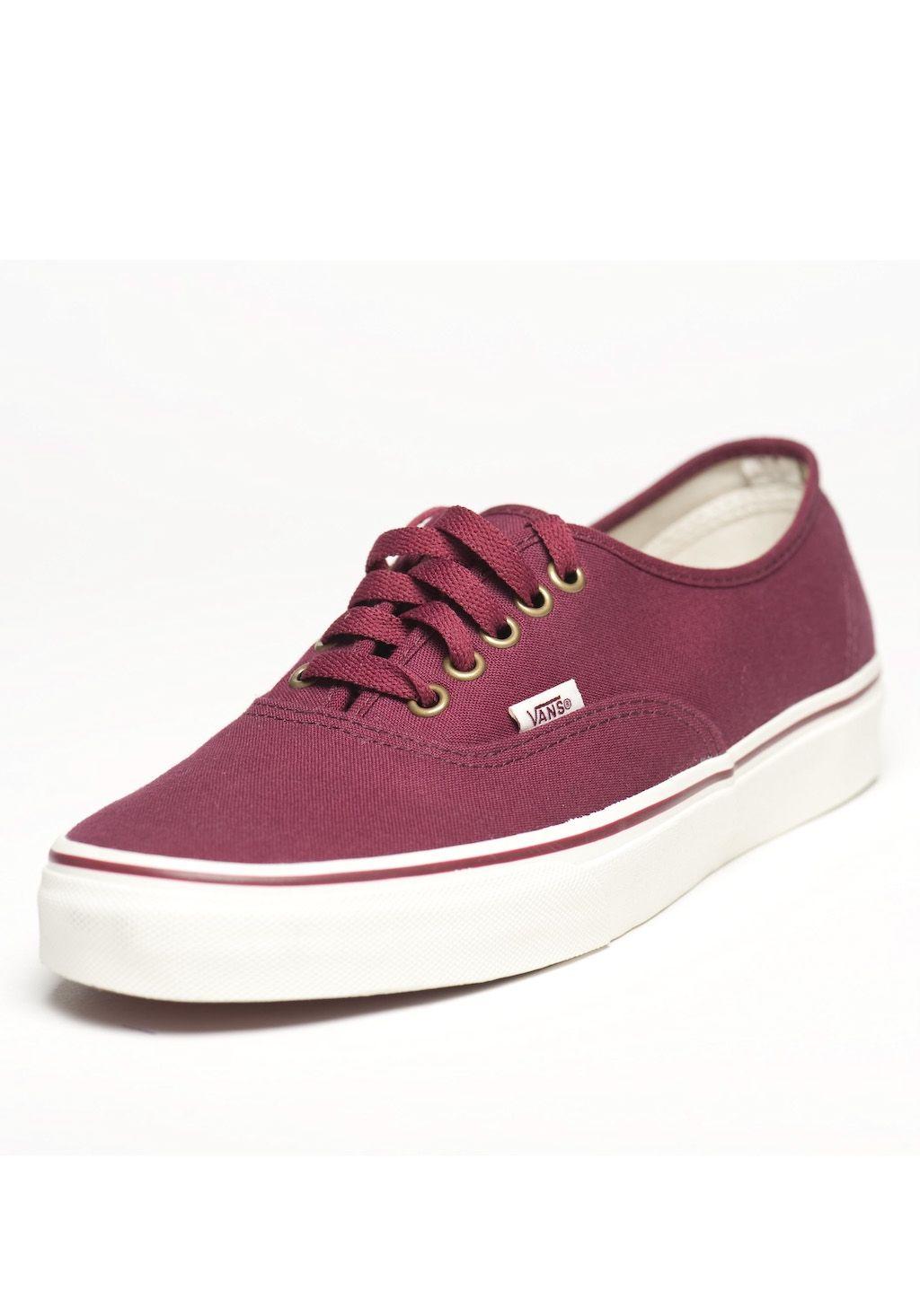 Vans Authentic bordeau | Chaussure, Mode