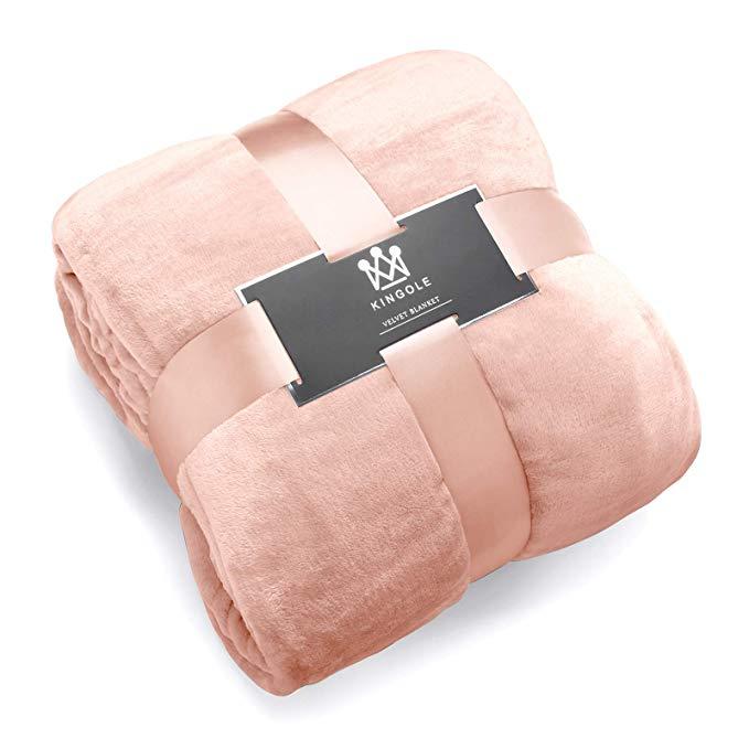 Amazon Com Kingole Flannel Fleece Microfiber Throw Blanket