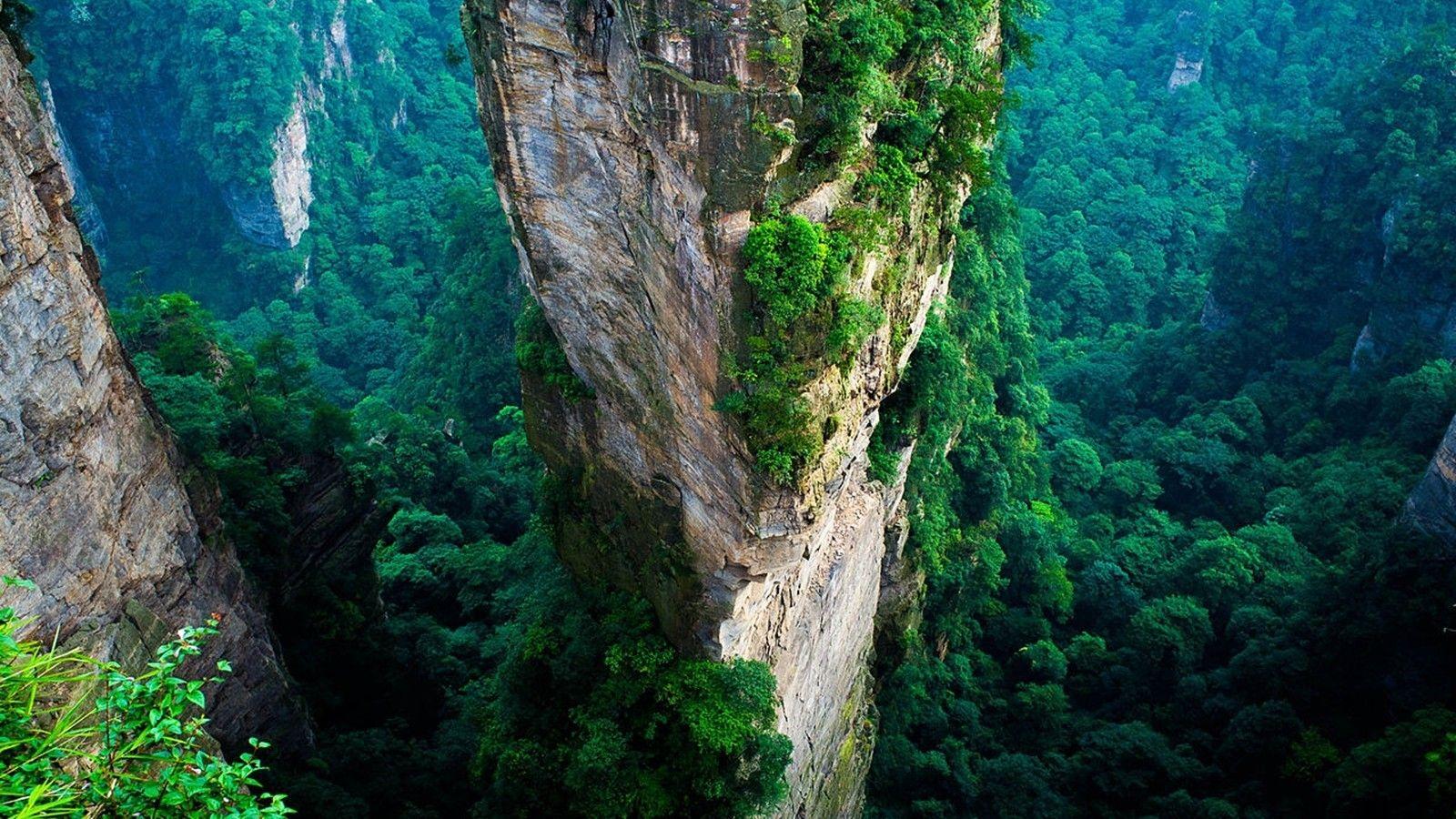 Fondos De Pantalla Paisajes 4k Ultra Hd Zhangjiajie Tianzi Mountains Forest Scenery
