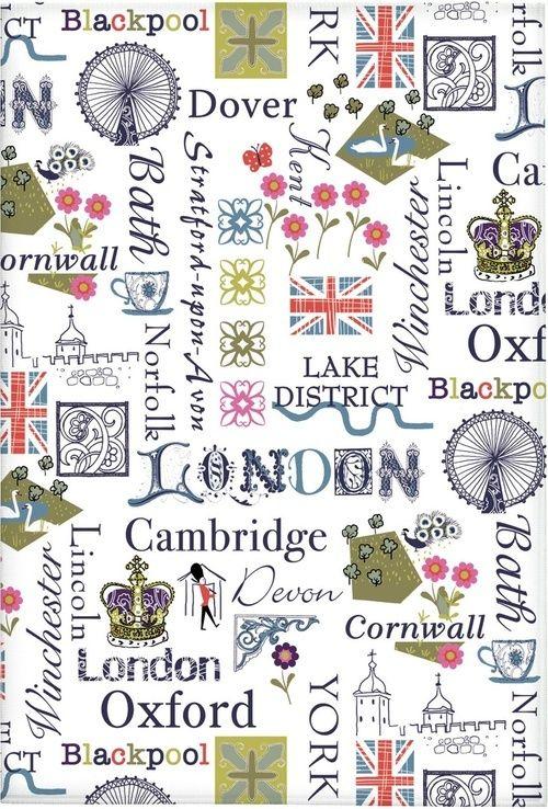 England Tea Towel 画像あり おしゃれな壁紙背景 壁紙 イラスト