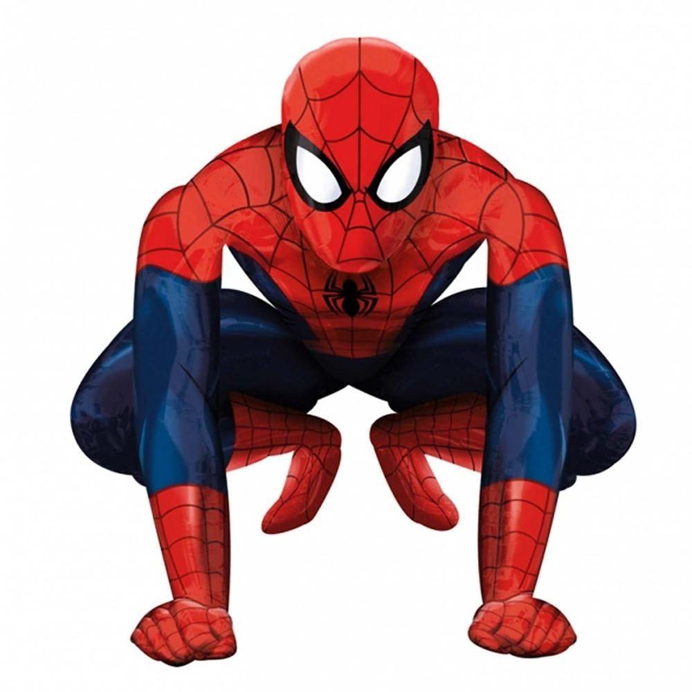 Spiderman Folienballon Luftballon Ballon Kindergeburtstag Marvel Spider Man
