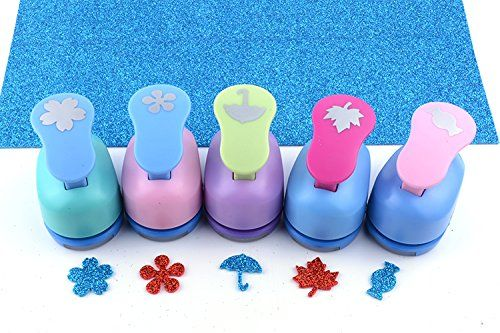 9 PCS Mini Paper Punches Sets Christmas tree Snowflake and ...