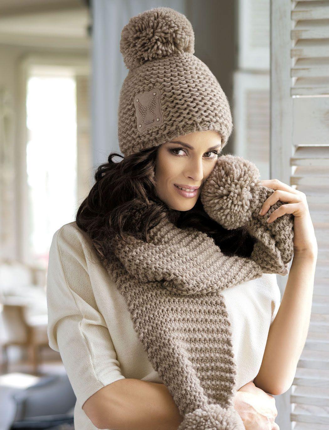 Вязание дизайнерские зимние шапки описание