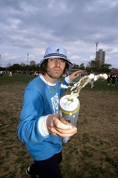 Liam Gallagher in a Kangol bucket hat a4c6c0570fe
