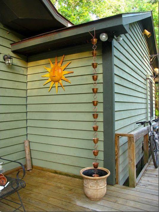 Brilliant Ideas For Diy Rain Chains For Beginners Great Gardens Amp Ideas Rain Chain Diy
