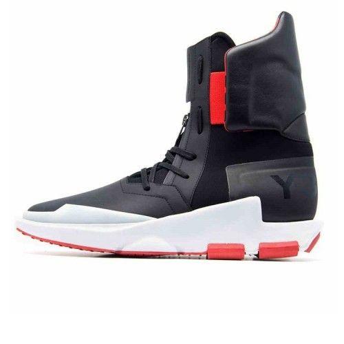 2016 Adidas Y3 by Yohji Yamamoto The Noci 0003 Sort Scarlet Hvite