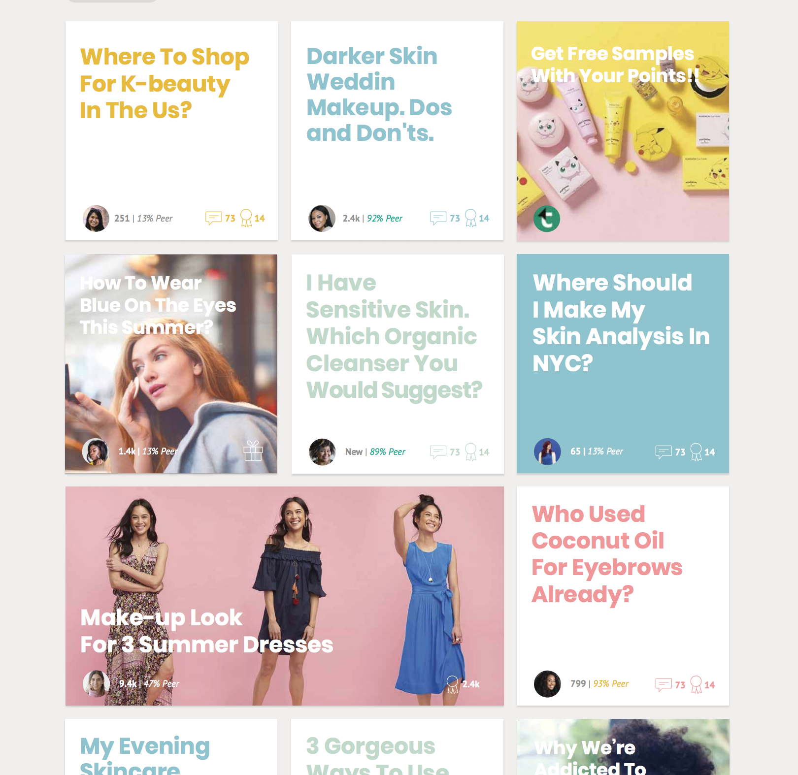 Discover more about beauty: Teezler #ux #ui #startups