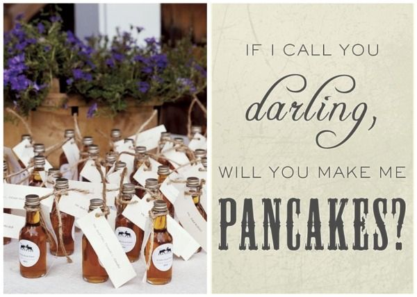 winter weddings darling real maple syrupreception