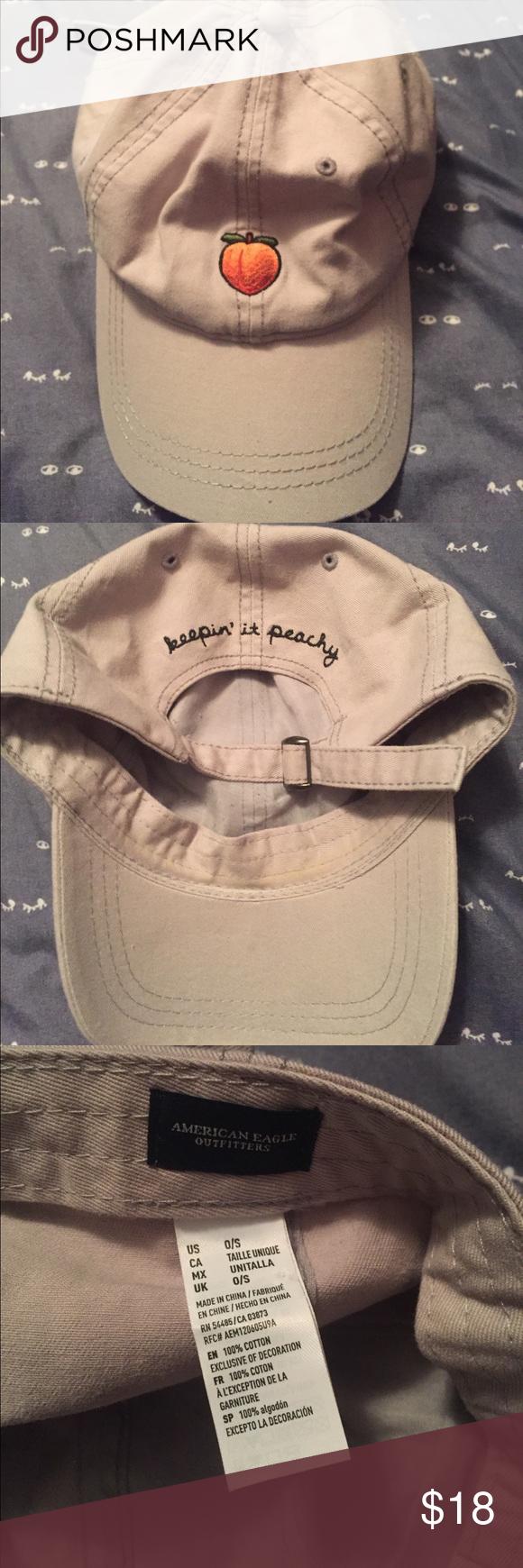 AEO  keeping it peachy  peach emoji hat 🍑 AEO  keeping it peachy  peach  emoji hat 🍑 only worn once! Super cute!! American Eagle Outfitters  Accessories ... 91f41a892b7c