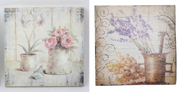 Cuadro decorativo estilo provenzal | modelos vintage | Pinterest ...