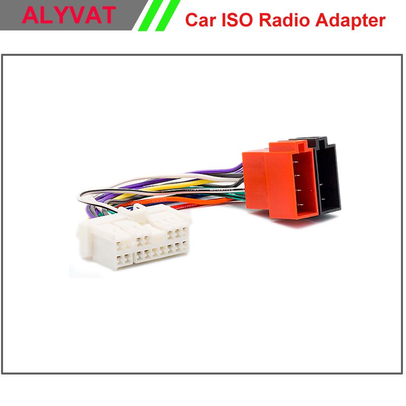 Car ISO Stereo Wiring Harness For Hyundai 1999-2005 Kia 1999-2005 ...