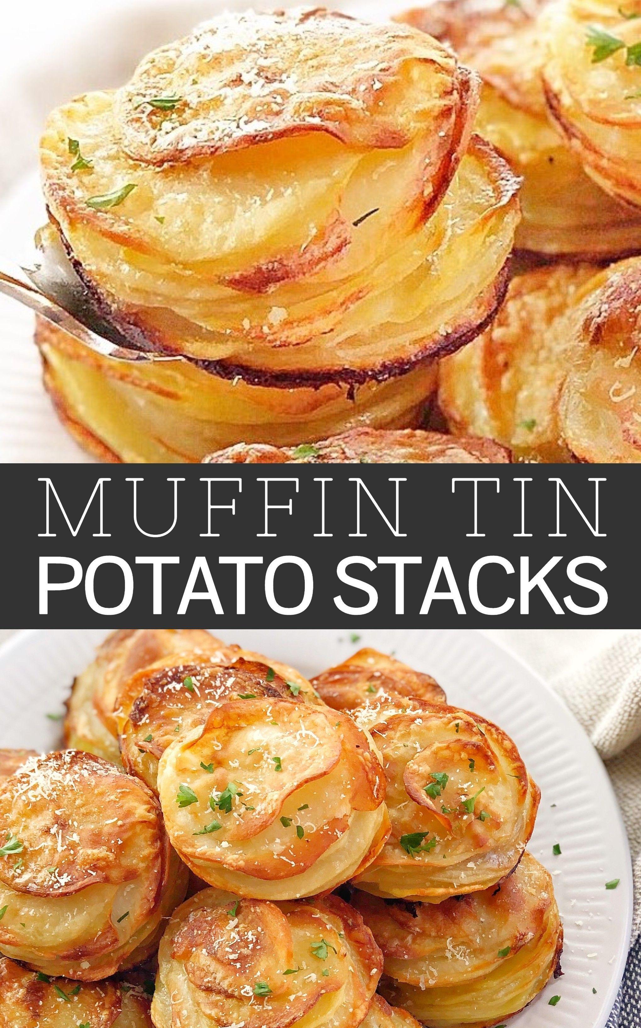 Crispy Potato Stacks