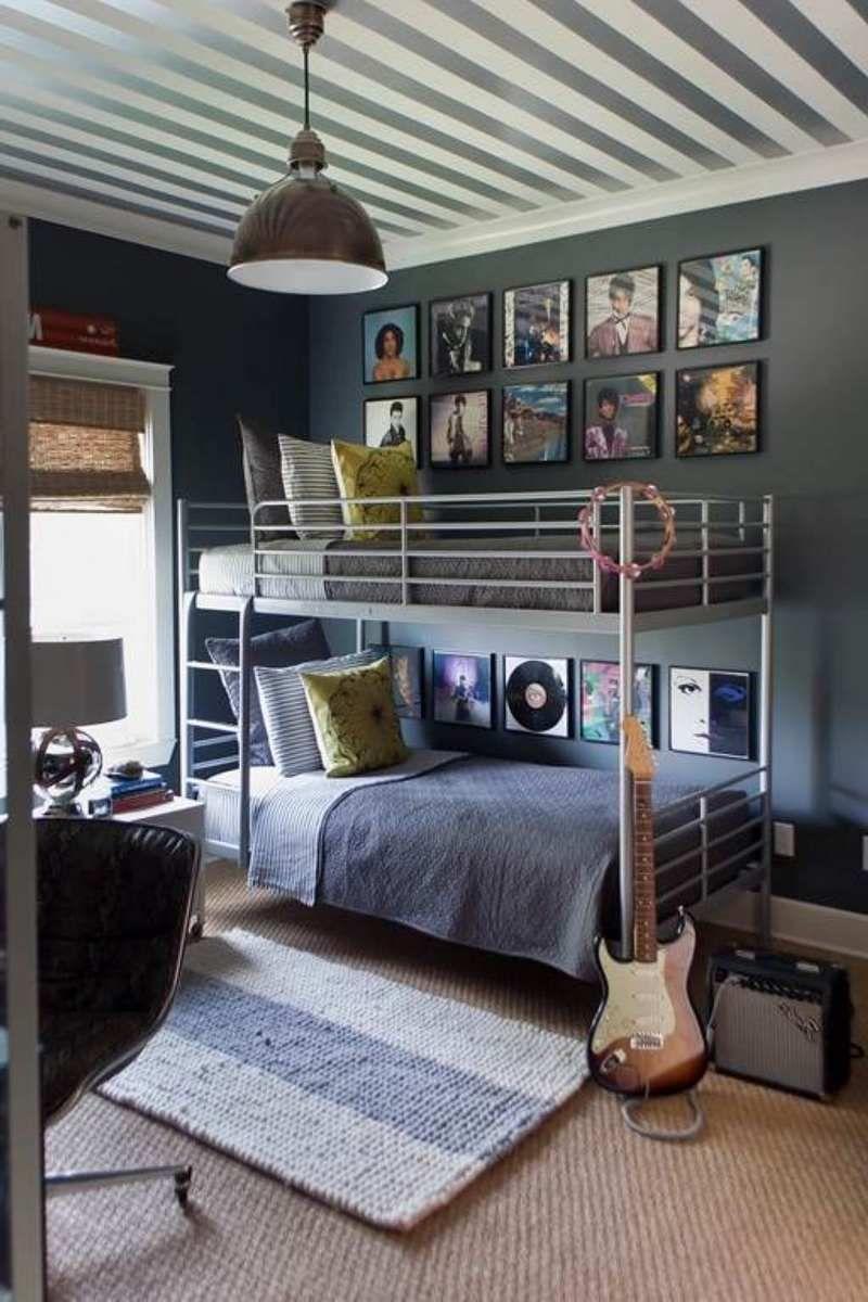 Chambre style industriel en 15 idées de chic brut authentique