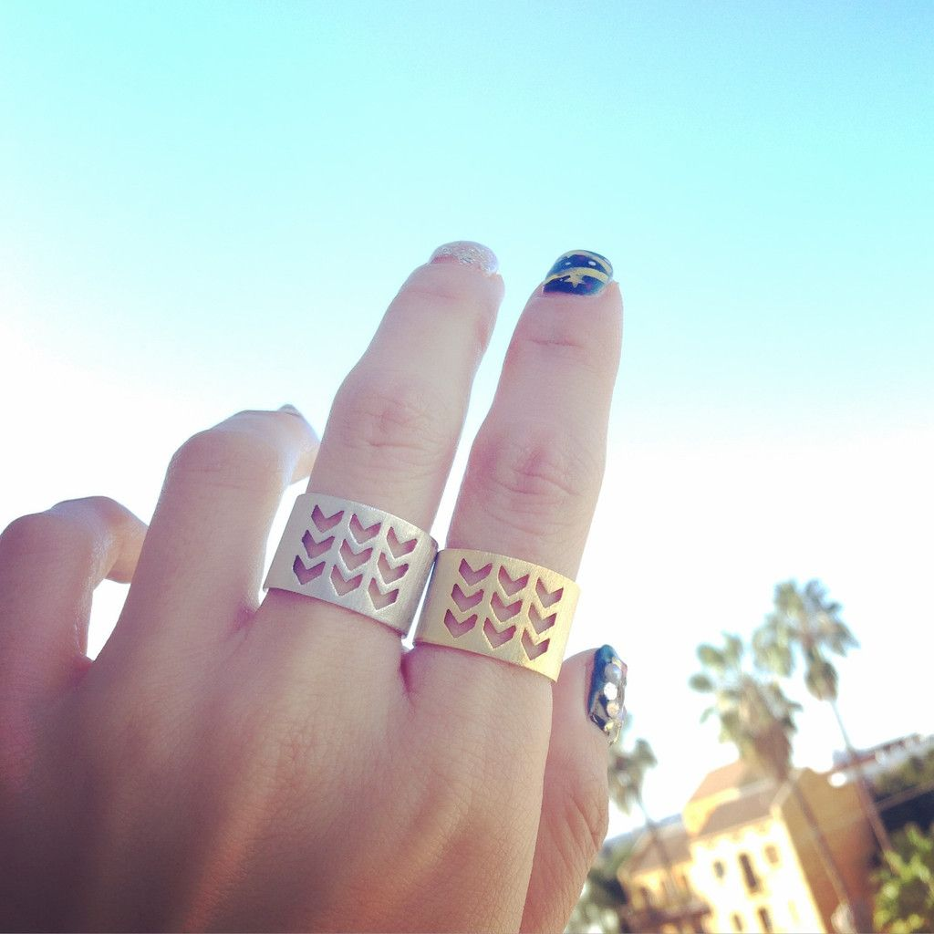Can't get enough of these rings by Shopebbo. What do you