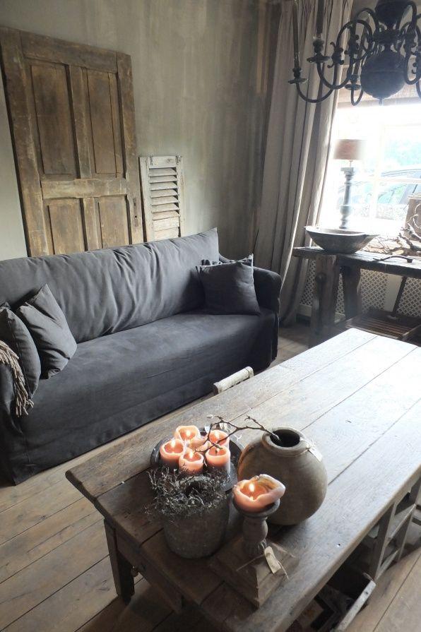 Binnenkijken woonkamer | Styling Living# landelijke inrichting ...
