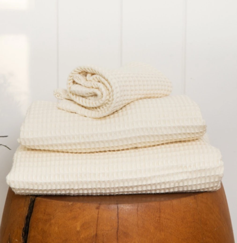 Bamboo Lyocell Waffle Towel in 2020 Cotton bath towels
