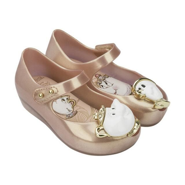 Mini Melissa Beauty and the Beast jelly sandals
