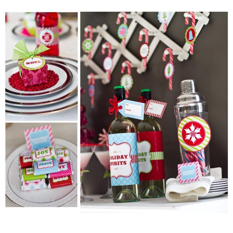 Awesome Retro Christmas Party Ideas Part - 14: Vintage U0026 Classic Holiday Christmas Parties! - Karau0027s Party Ideas - The  Place For All