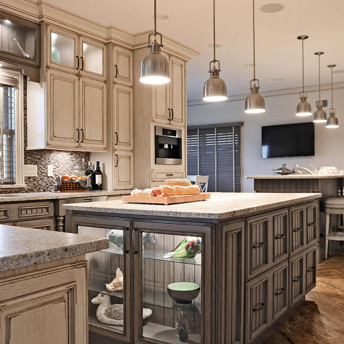 Full Custom Cabinets By Tuscan Hills Kitchens Bathsships In 6 8 Weeks Custom Kitchen Cabinets Tuscan Kitchen Kitchen Remodel Small