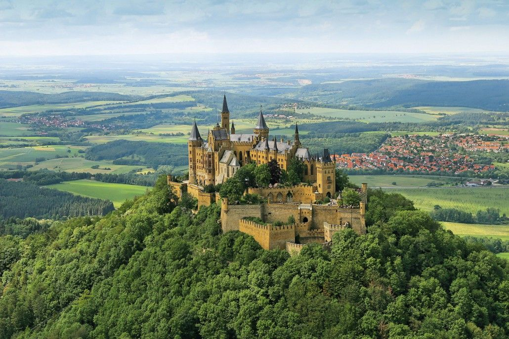 Hohenzollern Castle Hohenzollern Castle Germany Castles Castle