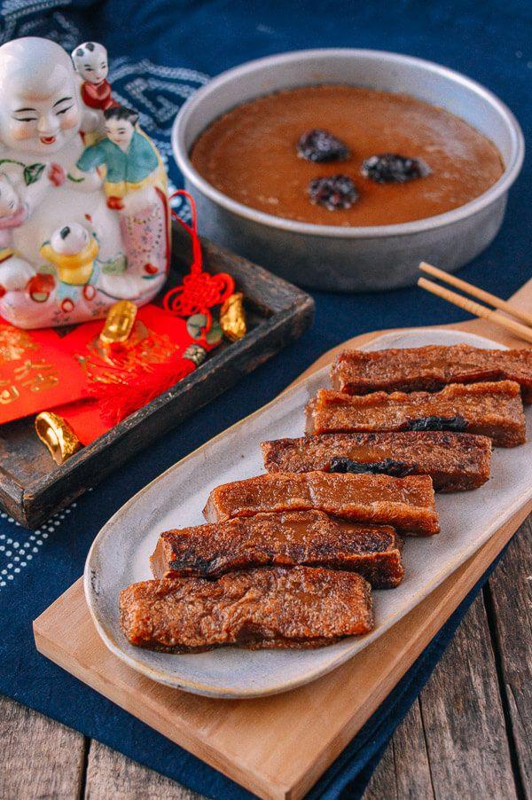 Chinese New Year Sweet Rice Cake (Nian Gao) Recipe