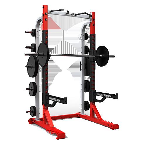 Half Rack Life Fitness At Home Gym Dream Gym Gym Room