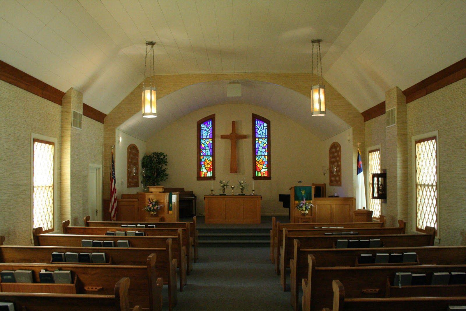 Small Church Interior