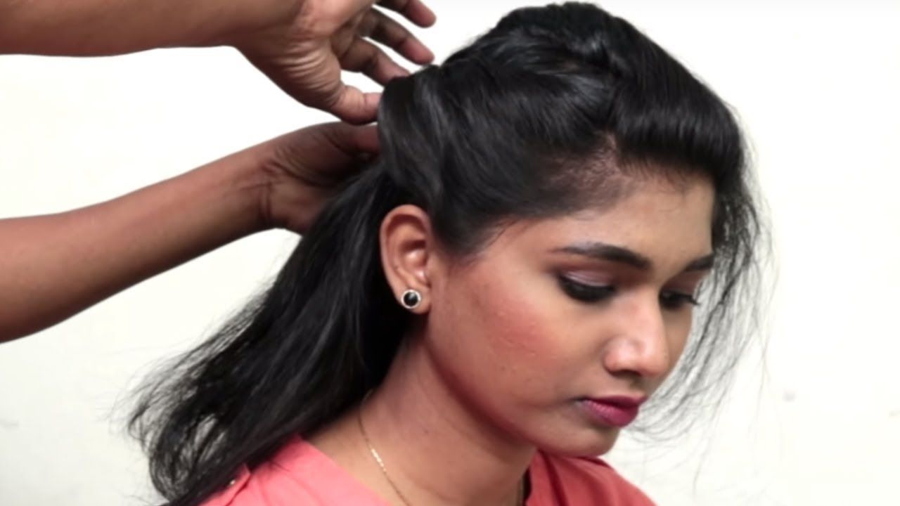 how to: new party hairstyle for short/medium hair || occasion