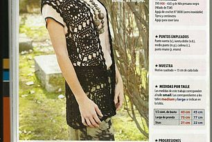 Maxi Colete de Crochet