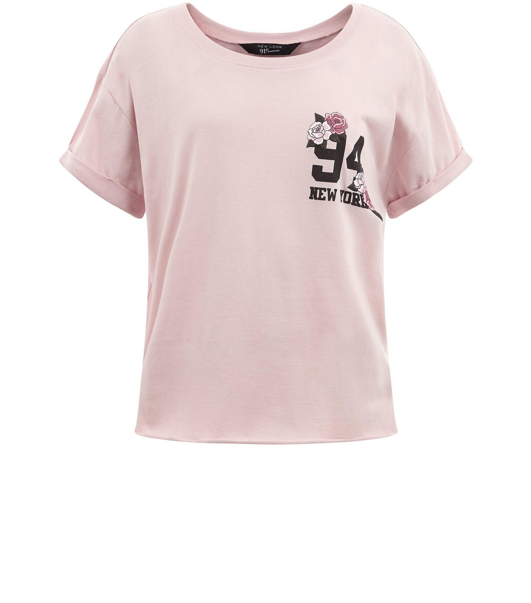 Pink tshirt teen