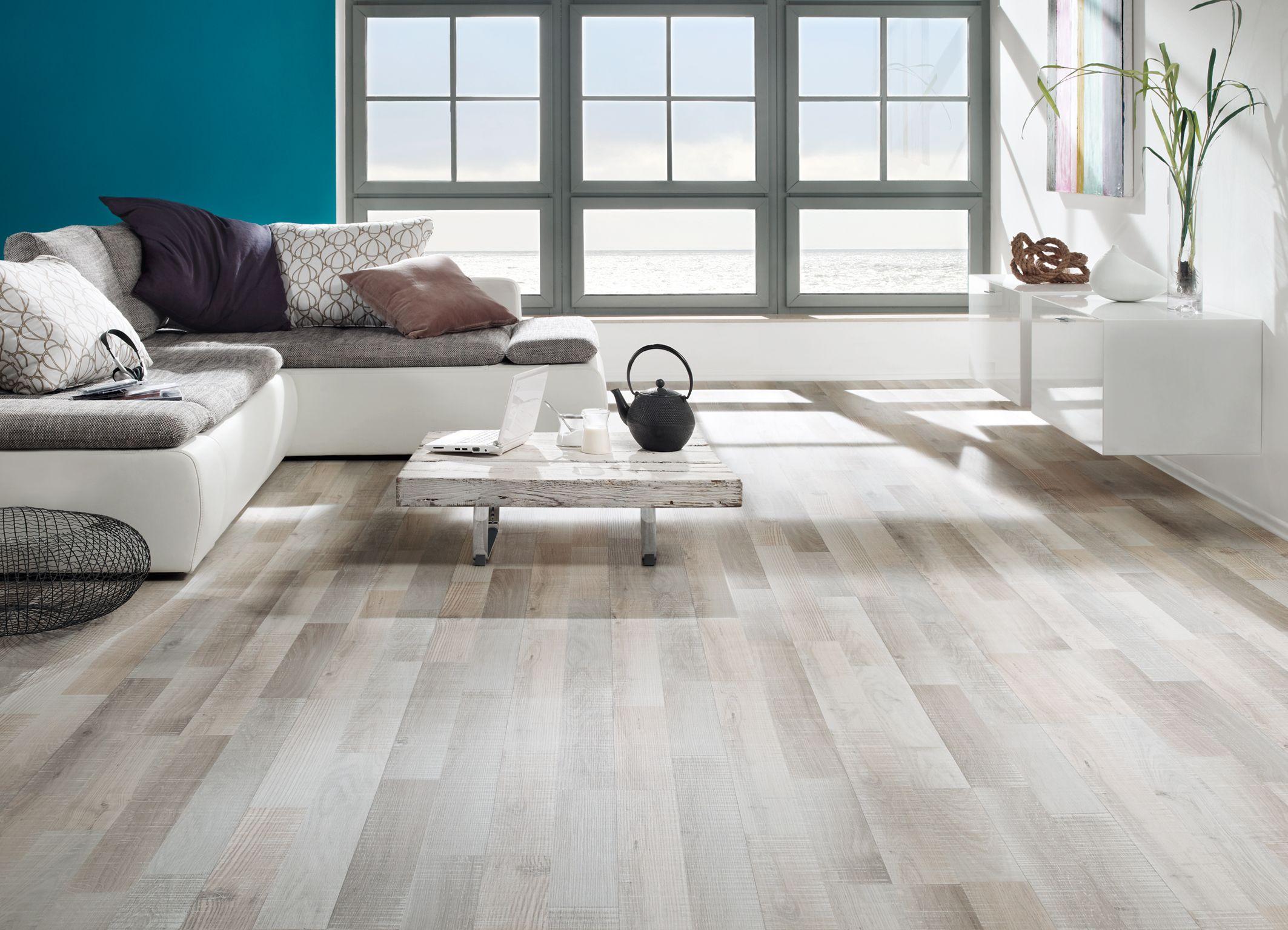 Eiken ruw gezaagd grijs wit laminaat vloer vloer